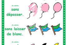 coloriages / by Hélène E-Lz