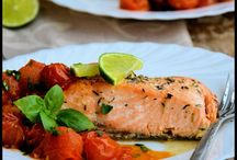 salmone, pesce...