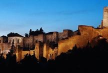 Arab Castle & Arab Locations in Malaga / La Alcazaba, 11th Century Arab Castle & Other Arab style locations available for film shoots