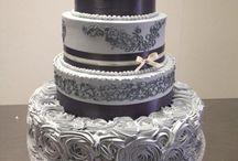 Information/ideas for wedding cakes / Dit bord is uitsluitend voor een idee op te doen voor een bruidstaart