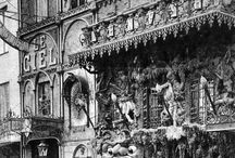 Rathskeller / Hypothetical dive for the theatrical arts scene in Prague, CR