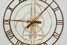 Wooden Clocks / Wooden Clocks and other stuff with wooden gears from HolzMechanik.de