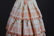 1850s - Crinoline era garments