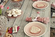 gezellige tafels
