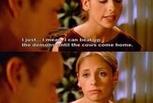 BTVS & Angel / Buffy the Vampire Slayer and Angel TV Shows in pictures  / by Myriam Roberts