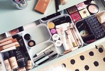 Dream Vanity / Lets dream big, Makeup storage wishlist. Wishlist de rangement makeup <3