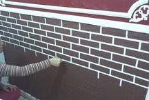 paredes de tijolinhos e outros