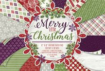 First Edition Merry Little Christmas / Reflecting the vibrancy of the festive holidays, First Edition's Merry Little Christmas paper pad will be sure to build the anticipation for the happiest time of year! Kristin Cronin-Barrow's designs feature traditional, festive imagery with a modern twist to really bring your Christmas creations to life! In a trendy purple, red and green colour palette, the decorative papers features a mix of vintage and contemporary patterns.
