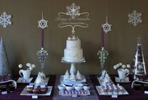 """Sweet table """"Warm Christmas,Cold Winter"""" by Icing and Crumbs"""