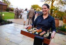 Wedding Food & Beverages / A collection of a few favourite dishes and wonderful options at the Barns