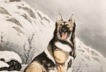 Chinese Wolf Paintings / Chinese Wolf Paintings from CNArtGallery.com. http://www.cnartgallery.com/87-chinese-wolf-paintings