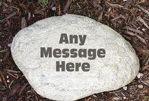 Personalized Garden Stones