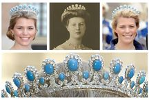 Royal tiaras, Germany / Tiaras used by the former Royal and Princely families in Germany.