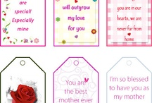 Printable Gift Tags, bookmarks and more... / Printable Gift Tags for Every Occasion