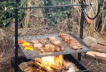 grill..ognisko
