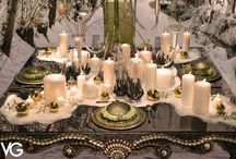 » VG Christmas Decorations « / Christmas time is the perfect period for giving vent to our decorative skills. As Italians, we have focused on table decor! Wish you'll appreciate...