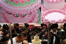 Decorações para bolos