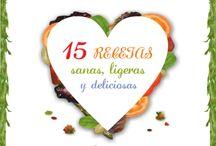 Recetas de ENSALADAS / Libro gratis de Recetas de Ensaladas, para comer sano, variado y cuidar la línea: http://www.recetascomidas.com/recetas-ensaladas