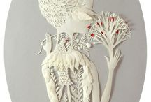 Paper sculptures and cuts / by Jayne Alexander