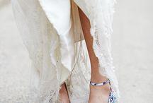Offbeat wedding shoes