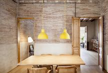 insertions / beautiful renovations and new insertions into existing spaces