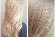 Blondes Haar