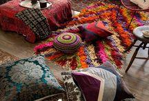decoracion casa hippie