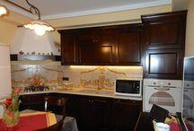 Antarte kitchen / cucine in legno massello