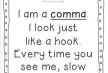 Classroom: punctuation