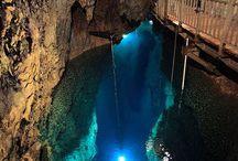 Caverne e Laghi sotterranei