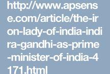 About Indira Gandhi