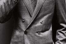 Men's Style: Suited  / A collection of fashionable gentleman with an elegant twist.