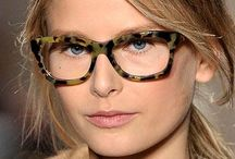 Fashion Coaching: glasses / The classic lens or the fancy shape? Both...is a way to make up your style!
