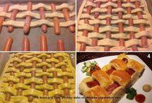 Rychlé večeře - Fast dinner / Pizza, slané koláče, listové těsto na slano - pečení slané