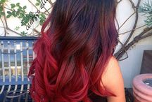 lovely colour hair
