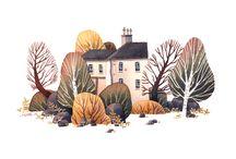 Land illustration