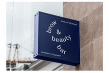 Brow&Beauty Bar, visual identity / Brow&Beauty Bar is a Moscow beauty salon. We worked on a brand repositioning, strating from beauty trend analysis, we re-defined target audience and updated visual identity.