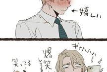 ヘタリア 金髪トライアングル