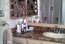 Before & After Bathroom / by Connie Carlsen