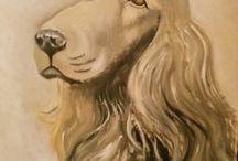 Dibuixos i pinzellades / pintures al oli de producció pròpia