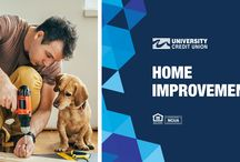 Home Improvements / Make your home improvements happen this month! Get tips and explore our loans all month long!