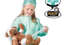 SES Rescue world / SES Rescue World is the world of hospitals, doctors and patients. With products like a doctor's case and doctor's clothes, you have everything you need to play hospitals.