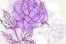 , цветы
