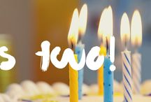 PURSUEINSPIRE.COM / 2 years old! Sharing posts from the website 2nd anniversary onwards