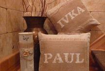 dekorace / dekorace do bytu -polštářky
