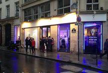 Vskin / Marque de tenues sportives fondée au Japon par  Yayoi Kumazawa, s'est installée comme Pop up Store à la Cremerie de Paris la semaine du 17 septembre 2013.
