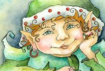 Elves and Fairies / by Ellen Hoj