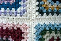 szydełko - kwadraty i koce / crochet - squares & afghans