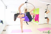 flexy / Flexy Fitness bei StudioB15: Aerial Yoga, Aerial Hoop, Stretch & Relax