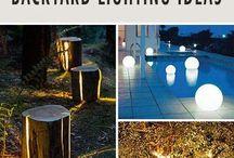 Outdoor Lighting Backyard